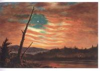 Frederic Church, Our Banner in the Sky, 1861.