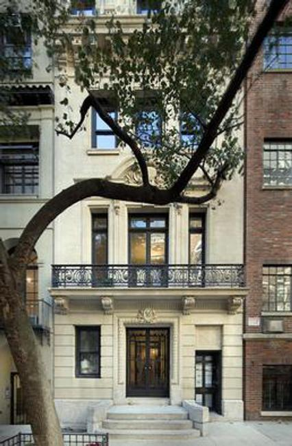 THE ARTHUR SACHS MANSION at 58 East 66th Street in New York City.