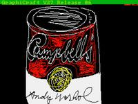 Digital art by Andy Warhol was recently discovered on floppy discs.