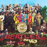 A signed copy of the Beatles album Sgt.  Pepper's Lonely Hearts Club Band sold at auction for $290,500, almost doubling the previous record for an album cover from the legendary rock band.