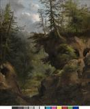 Robert Seldon Duncanson (1821–1872) The Caves, 1869.  Oil on canvas.  Amon Carter Museum of American Art, Fort Worth