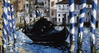 Edouard Manet (French, 1832-1883), The Grand Canal, Venice, 1875, oil on canvas.  Shelburne Museum.  1972-69.15