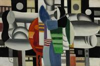"From Madonna's art collection, Leger's ""Three Women at the Red Table"" will be offered at Sotheby's on May 7, 2013."
