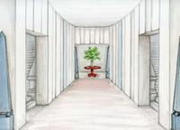 Rendering of Spring Show NYC Entrance at Park Avenue Armory.