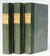 A first edition in three volumes of Jane Austen's EMMA, London: John Murray.  1816, offered by Lucius Books