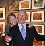 Tim Montgomery and Rita Fucillo of New Venture Media, publishers of Art New England magazine, at the AD20/21 Gala.