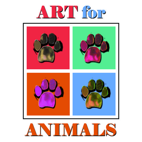 """Art for Animals"" Exhibition for Charity www.fusionartps.com"