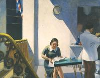"Edward Hopper featured in ""When Modern Was Contemporary: The Roy R.  Neuberger Collection."""