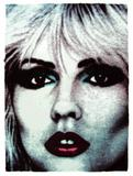 Face NO.5 (Debbie Harry) signed and numbered, edition 100, 76 x 56cm 2012 screen print on hand-made rag paper made from recycled T-shirts