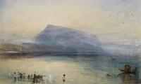 'The Blue Rigi, Sunrise', by JMW Turner (1842)