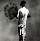 Carrying an estimate of $20,000 to $40,000 will be Irving Penn's photograph entitled Vionnet with Fan.