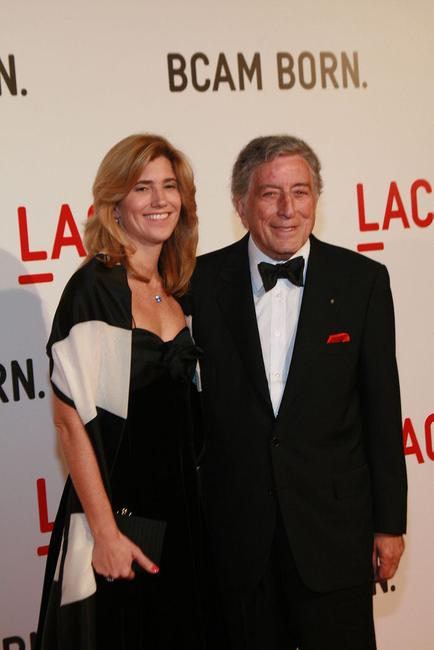 Tony Bennett and wife Susan by Jeremiah Garcia