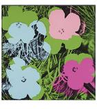 Andy Warhol, Flowers, 1970, Screenprint, 91.4 x 91.4 cm, Bank of America Collection, Image © The Andy Warhol Foundation for the Visual Arts / Artists Rights Society (ARS), New York / DACS, London 2011.
