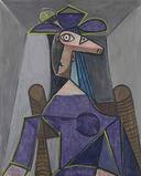 "Pablo Picasso's ""Portrait de Femme (Dora Maar)"" brought $22.6 million, including commission, at Christie's on May 6, 2014."
