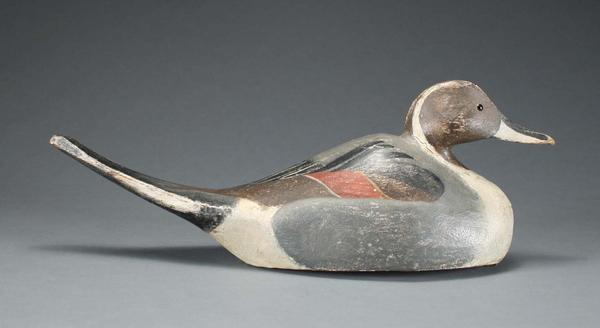 "Rare ""humpback"" model pintail drake circa 1920's is expected to bring over $75,000"