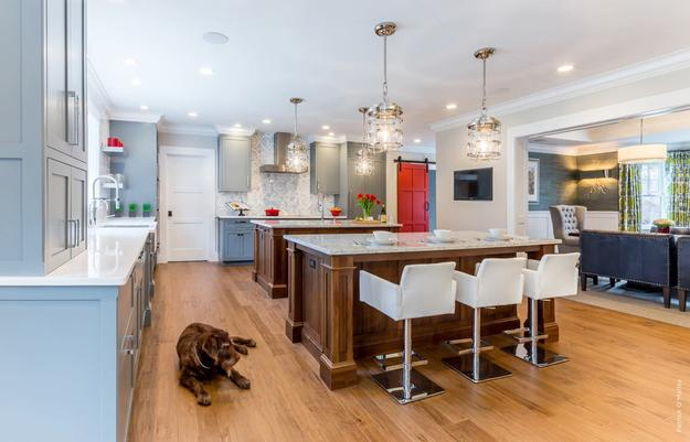 CotY Award Winning Kitchen Renovation in Newton Centre.