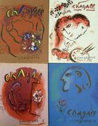 Marc Chagall Lithographs, volumes 1-4 of Chagall's catalogue raisonné of lithographs.