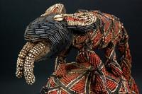 Babanki beaded headdress (detail)