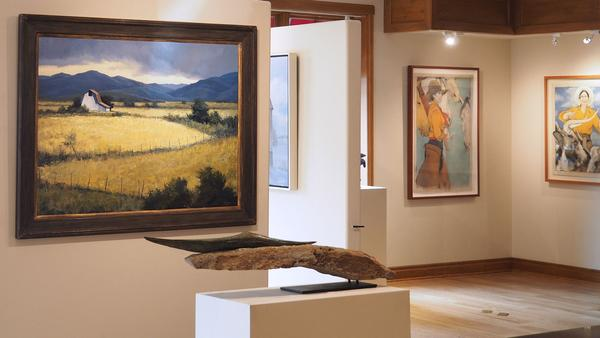 Barns and Bones of the West exhibition now on view
