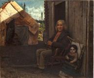Eastman Johnson, Indian Family.  Circa 1856-57.  Est.  $400,000-600,000