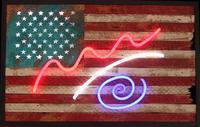 """America!"" by Philip Hazard, mixed media, Zenith Gallery, www.zenithgallery.com/"
