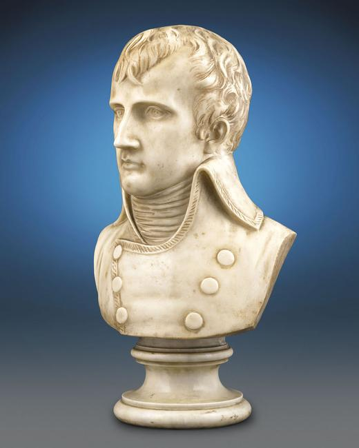 Bust of Napoleon as First Consul.