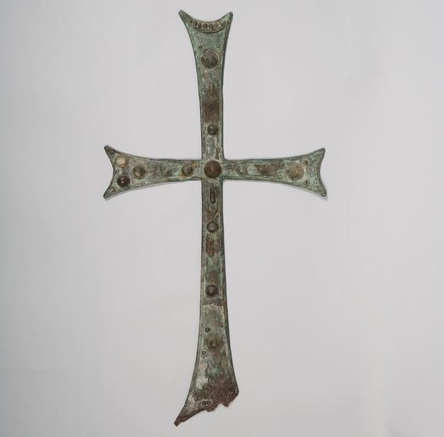 Byzantine Bronze Cross, 6th / 10th Century,