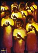 """Candlelight Vigil"" by Bernard Hoyes/finalist in the Bombay Sapphire Artisan Series"