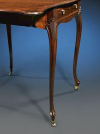 Chippendale was a perfectionist, and even the graceful cabriole legs display the master's eye for balance and beauty.