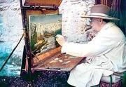 Few people realize that Churchill was a gifted artist.