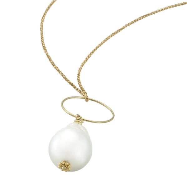 Pure Earth Auction Item: South Sea Baroque Pearl Necklace by Christina Malle.