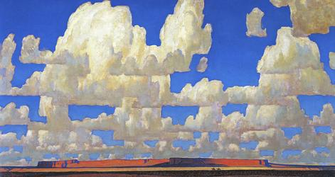 Maynard Dixon, Cloud World, 1925, oil on canvas; Courtesy of Adrienne Ruger Conzelman.
