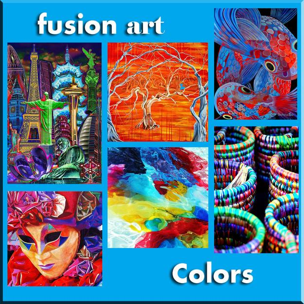 """Colors"" International Online Juried Art Exhibition Opened March 1, 2017 www.fusionartps.com"