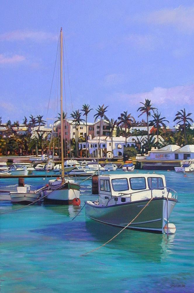 "Image Information: Tomm Swimm ""Colors of Bermuda"""