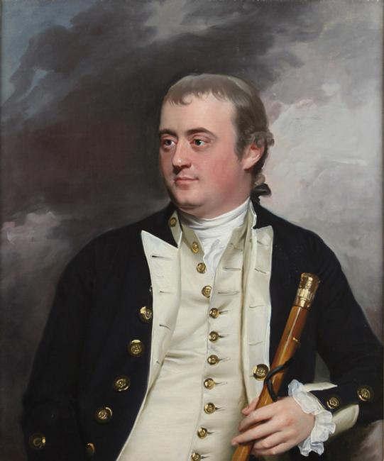 Joseph Royall Loring, by John Singleton Copley (1738-1815).  Boston or London, about 1774.  Oil on canvas.  Collection of Neil and Anna Rasmussen