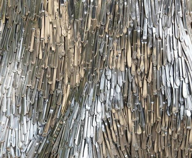 Jean Shin, Domesticated Landscape Bark