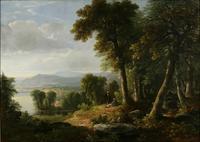 Asher B.  Durand, Landscape, 1850
