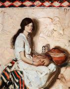 Dean Cornwell (1892–1960), Portrait, 1929, oil on canvas, 30 x 24 in, Sold: $245,700