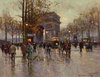 Cortès had the remarkable ability to portray the essence of Paris in all her moods.