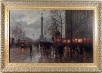Two paintings by the renowned French painter Edouard Cortes, including this one shown, will be sold Nov.  2nd.