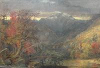 """Jasper Cropsey """"Autumn in America"""" 1860"""