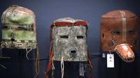 Sacred masks offered at auction