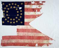 The only known remaining flag from Custer's last stand at the Battle of the Bighorn sold for $2.2 million at Sotheby's.