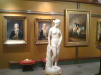 An installation view of the new Tuscaloosa Museum of Art: Home of the Westervelt Collection.