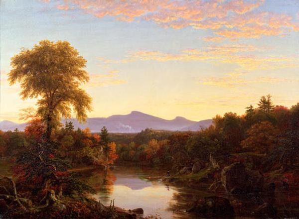 Thomas Cole (1801–1848) Catskill Creek, N.Y., 1845 Oil on canvas New-York Historical Society, The Robert L.  Stuart Collection, S-157