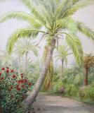 """Laura Woodward's (1834-1926) """"Palm Beach Trail"""""""