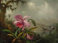 Martin Johnson Heade's Orchids and Hummingbirds, ca.  1875-90, from the estate of Helen Marx, brought $1.98 million at Sotheby's on Dec.  1.