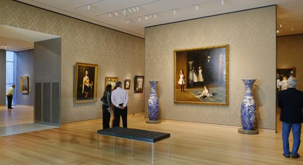 The Museum of Fine Arts, Boston, opened its $504 million Art of the Americas Wing in Nov.  2010.