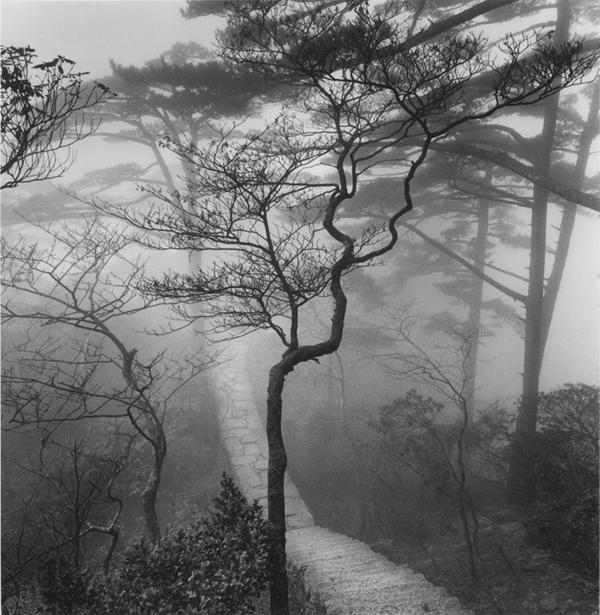 Michael Kenna, from Huangshan: Poems from the T'ang Dynasty, courtesy of 21st Editions
