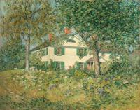 Clark Greenwood Voorhees, Chadwick House, Old Lyme.  Oil on canvas, 28 x 36 inches.  Signed lower right.  Image Courtesy of Hawthorne Fine Art, LLC